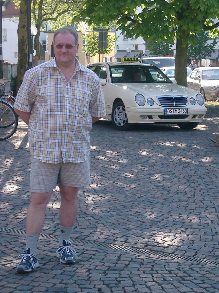 В перерывах между посещением предприятий Walter Rau